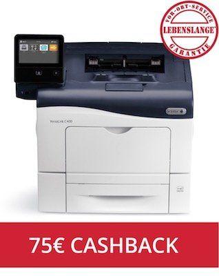 Xerox VersaLink C400N Farblaserdrucker für 249,90€ + 75€ Cashback (statt 369€)