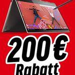 Heute bis zu 200€ Sofort-Rabatt auf Lenovo IdeaPad & Yoga Notebooks
