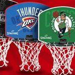 NBA Miniboard mit Vereinslogo inkl. Softball für 7,77€ zzgl. Versand
