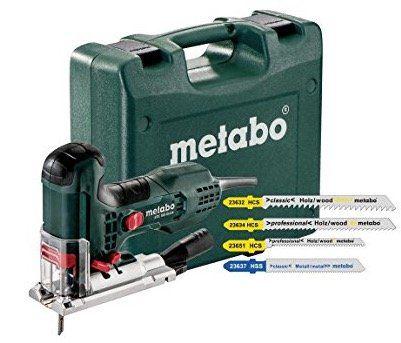 Metabo STE 100 Stichsäge inkl. Koffer & Sägeblätter für 119€