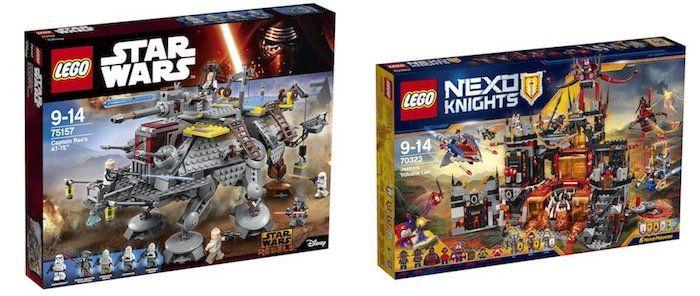 Lego Sets bei Karstadt im Angebot   z.B. Lego Nexo Knight   Jestros Vulkanfestung für 64,44€ (statt 101€)