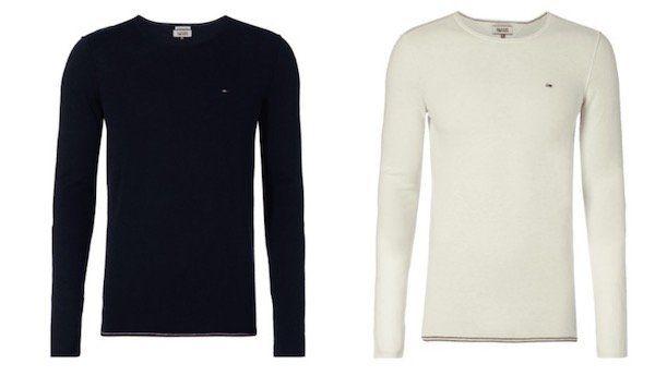 Hilfiger Denim Pullover mit Nähten im Inside Out Look für 35,99€
