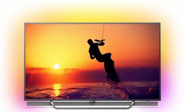 Philips 55PUS8602   55 Zoll 4K Fernseher mit Quantum Dot und 3 seitigem Ambilight für 1.099€ (statt 1.230€)