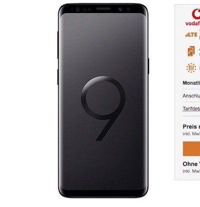 Samsung Galaxy S9 mit 64 GB für 99€ + Vodafone Smart L mit 7GB LTE für 41,99€ mtl.