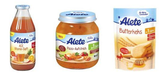 Alete Baby Nahrung ab 0,12€ auf Top12.de