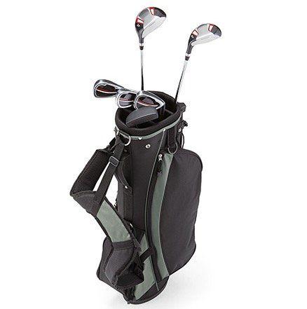 Knaller! Einsteiger Golf Sets mit Doppel Rucksack Tragegurt für 29€