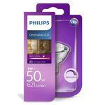 4er Pack Philips 8W (50W) LED Lampe mit GU5.3 Sockel (dimmbar) für 19,99€(statt 26€)