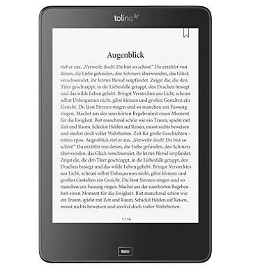 tolino epos eBook Reader für 196,94€ (statt 224€)