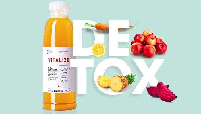 50€ Dean & David Gutschein für nur 25€   Säfte & Suppe Detoxkur