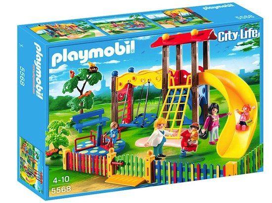 Playmobil City Life   Kinderspielplatz (5568) für 17,94€ (statt 23€)