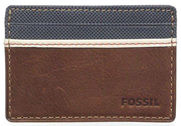 Fossil Mini Geldbörse Elgin brown für 18€ (statt 26€)