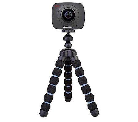 Braun Photo Technik Champion 360° Vollbild Action Kamera für 59,99€ (statt 132€)