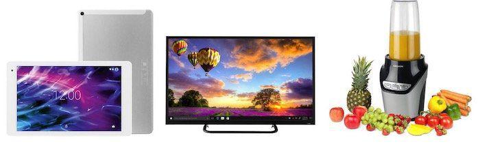 Medion Super Sale bis  50% bei eBay   z.B. Medion LIFE X17100 4K Fernseher nur 379,99€ (statt 449€)