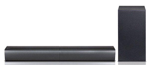 LG SJ7   Soundbar mit kabellosem Subwoofer und WLAN für 207,40€ (statt 275€)