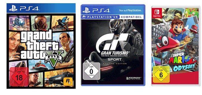 Media Markt: 5 Games kaufen und nur 3 bezahlen   Konsolen und PC Spiele!