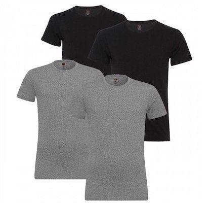 4er Pack Levis Crew Neck Herren T Shirts für 32,99€ (statt 40€)