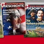 4 Ausgaben Geschichte im Probeabo gratis zzgl. 4€ VSK