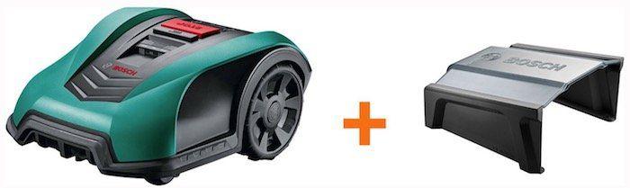 Bosch Mähroboter Indego 400 inkl. Mähroboter Garage für 664,99€ (statt 798€)