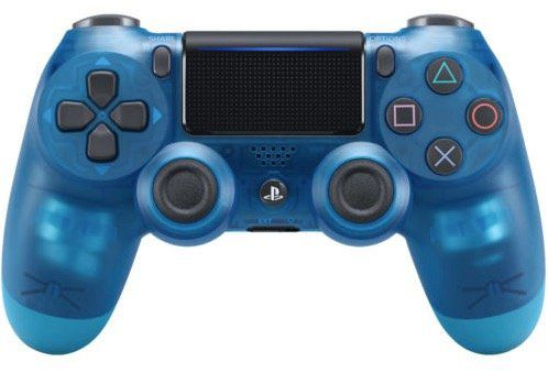 Sony DualShock 4 (2016) PS4 Controller (translucent blue) ab 35€ (statt 59€)