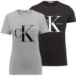 Calvin Klein Damen und Herren Logo T-Shirts für je 32,90€