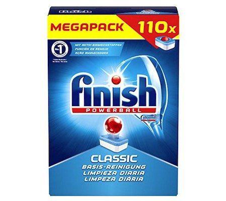 110er Pack Finish Classic Spülmaschinentabs ab 8,44€ (statt 13€)   Plus Produkt