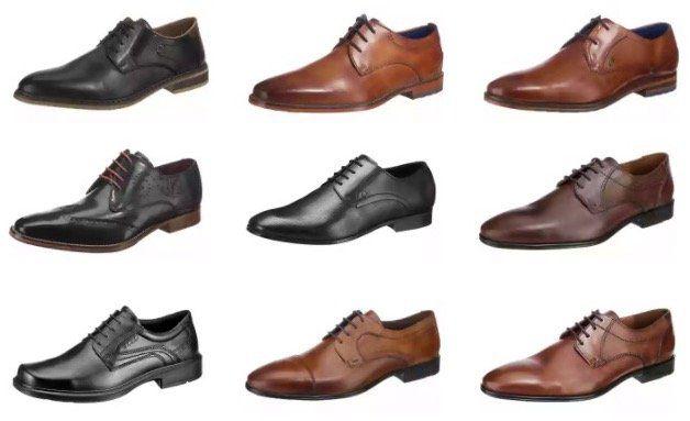Günstige Business Schnür Schuhe dank 20% Gutschein bei mirapodo