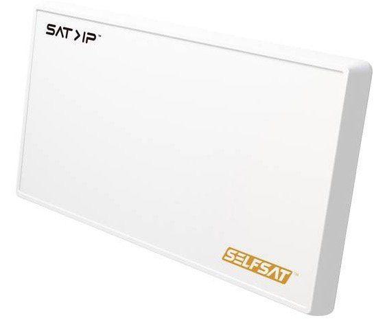 Selfsat IP 21   flache Sat Antenne für bis zu 8 Endgeräte für 313,37€ (statt 362€)