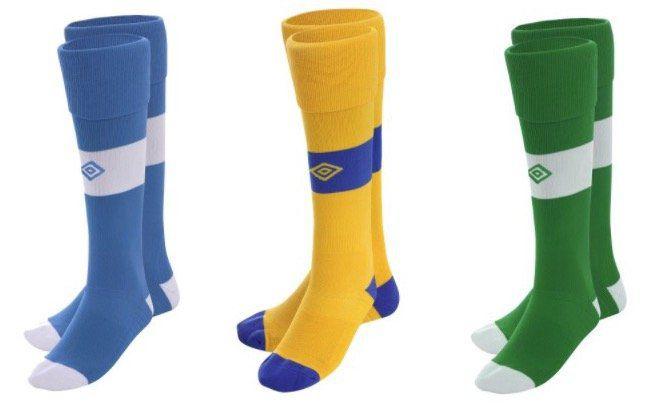 Umbro Teamwear Fussball Stutzen für je 0,50€ zzgl. 3,95€ VSK