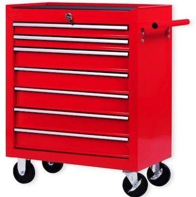 Masko Werkstattwagen mit 7 Fächern für 85,32€ (statt 109€)