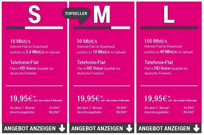 Telekom Magenta Zuhause (DSL Tarife) mit bis zu 260€ Cashback oder anderen Prämien + zusätzlich 120€ Gutschrift