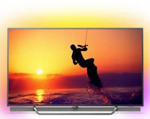 Philips 65PUS8602   65 Zoll QLED 4K TV mit 3 fachem Ambilight für 1.299€ + PHILIPS 24PHS4022 TV 24 Zoll, HD ready (statt 1.777€)