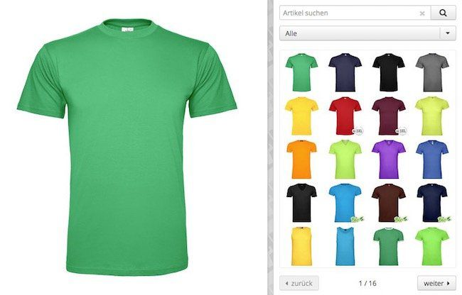 T Shirts bedrucken lassen mit 20% Rabatt im Shirtlabor