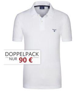 Gant Pique Poloshirts im Doppelpack für 85€ (statt 110€)