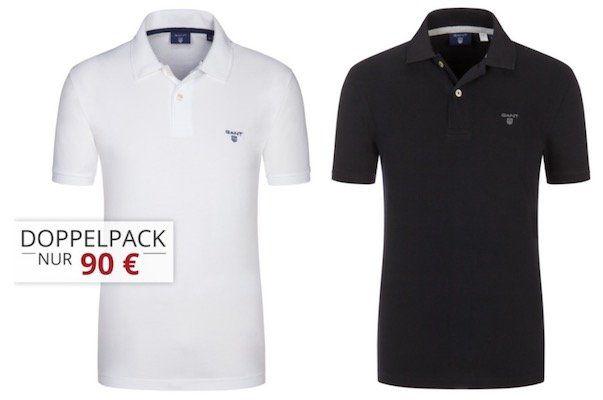 2 Gant Pique Poloshirts für 85,95€ (statt 110€)