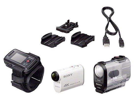 Sony FDR X1000VR 4K Action Cam für 222€ (statt 246€)