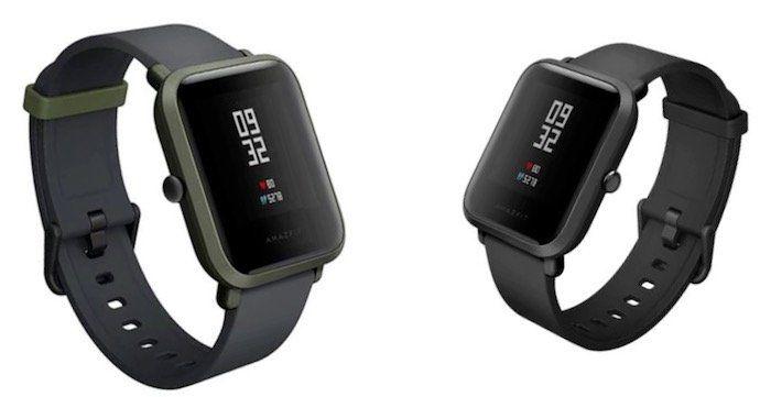 Xiaomi Huami Amazfit Bip   Smartwatch mit Schlafanalyse, Wetterfunktion, Notifications & mehr für 50,47€