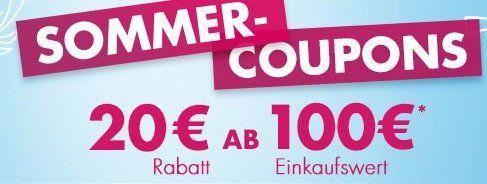 Karstadt mit 20€ Rabatt auf alles (ab 100€ MBW) bis Mitternacht