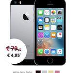 iPhone SE für 4,95€ + Vodafone Allnet-Flat mit 5GB nur 18,48€ mtl.
