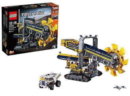 10% Rabatt auf Lego bei myToys   z.B. Lego Technic Schaufelradbagger (42055) für 162,24€ (statt 173€)