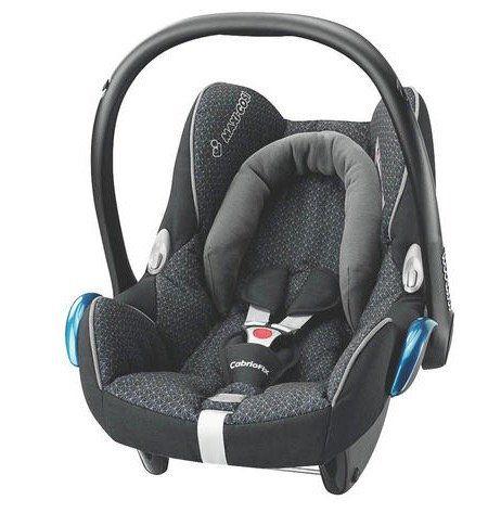 Maxi Cosi CabrioFix Babyschale in Schwarz für 83,94€ (statt 120€)