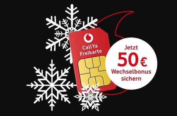 Vodafone CallYa Prepaid für 9,99€ für 4 Wochen   2GB LTE, 200 Einheiten