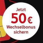 Vodafone CallYa Prepaid für 9,99€ für 4 Wochen – 2GB LTE, 200 Einheiten