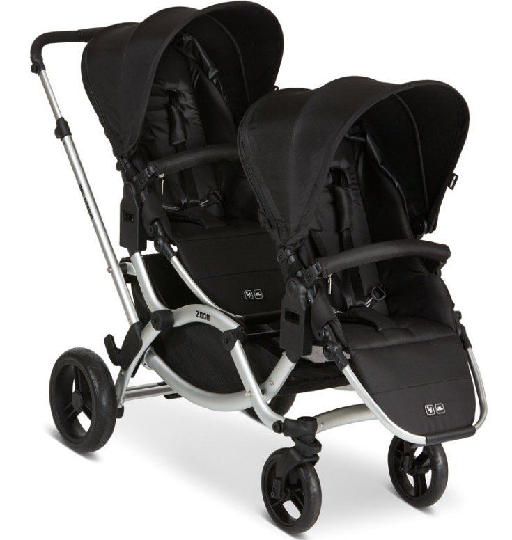 ABC Design Zoom Black Geschwisterwagen für 414,99€ (statt 499€)