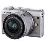 CANON EOS M100 Kit Systemkamera 24.2 Megapixel + 16GB Speicherkarte + Fronthülle für 299€ (statt 359€)