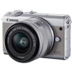 CANON EOS M100 Kit Systemkamera 24.2 Megapixel für 299€ (statt 357€)