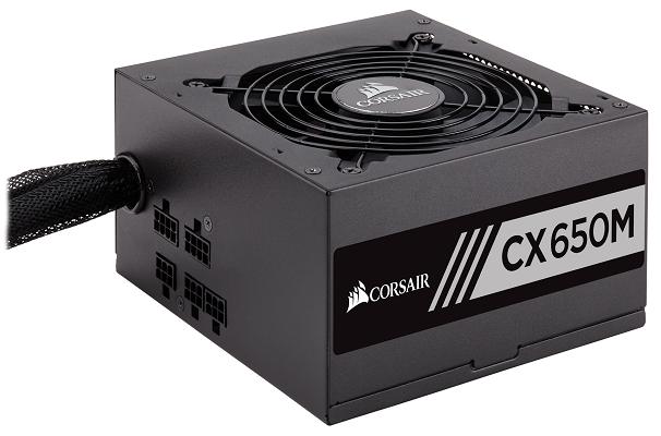 Corsair CX650M Modularnetzteil mit 650W für 59,90€ (statt 70€)