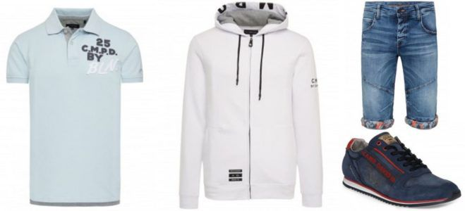 Letze Möglichkeit: Camp David Ostersale   20%Rabatt   z.B. CD Hoodie Jacket mit Rubber Prints für 63,96€ (statt 80€)