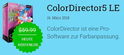 Nur heute! ColorDirector 5 LE kostenlos
