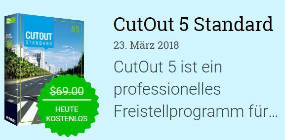 CutOut 5 Standard (Vollversion, Windows) gratis