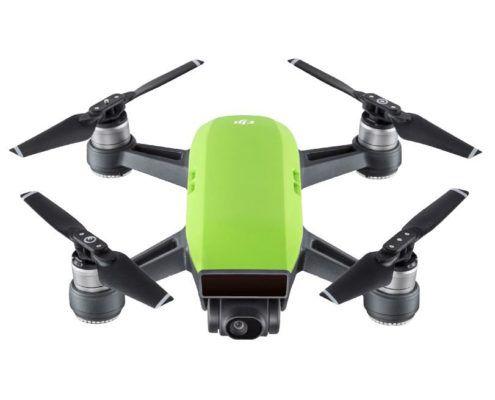 DJI Spark Meadow Green + Drohne für 385€